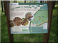 NO4098 : Forestry Commission Scotland notice board by Stanley Howe