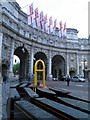 TQ2980 : Admiralty Arch by Steve  Fareham