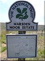 SD9912 : Marsden Moor Estate by David Dixon