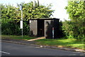 SP8519 : Bus shelter on the Wingrave road by Philip Jeffrey