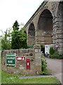 NT3264 : Entrance to Lothianbridge Caravan Park by Alan Murray-Rust