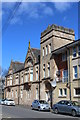 NS5863 : Coplaw Street, Glasgow by Leslie Barrie