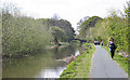 NT1770 : Union Canal at Hermiston by Anne Burgess