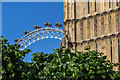 TQ3079 : The London Eye from Houses of Parliament, London SW1 by Christine Matthews