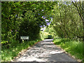 TM4479 : Entering Uggershall on Stoven Road by Adrian Cable