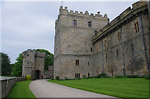 NZ1221 : Clifford's Tower, Raby Castle by Ian Taylor