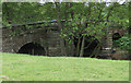 SE6082 : The three stone arches of Mill Bridge by Pauline E