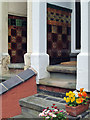 SK5839 : Sneinton: Victorian porches on Pullman Road by John Sutton