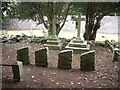 NO8499 : Templars graveyard at Maryculter by Stanley Howe