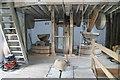SU4294 : Venn Mill - stone floor by Chris Allen