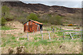 NG9030 : Corrugated metal building near Sallachy by Trevor Littlewood