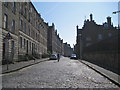 NT2673 : Cycling west on Drummond Street by Robin Stott