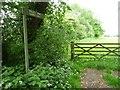 SK9018 : Dead End Bridleway sign, Fosse Lane by Christine Johnstone