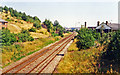 SJ8944 : Site of Fenton station, 1995 by Ben Brooksbank