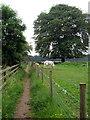 TL0232 : John Bunyan Trail by the paddocks by Philip Jeffrey