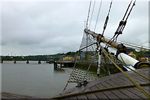 S7127 : The River Barrow at New Ross by Charlie Doolally