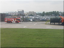 NT1473 : Edinburgh Airport Fire and Rescue Service by M J Richardson