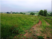 ST5464 : Looking towards Court Farm from the B3130 by David Gearing