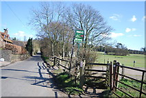 TQ5567 : Darent Valley Path off Franks Lane by N Chadwick