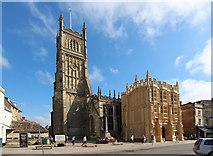 SP0202 : St John the Baptist, Cirencester by John Salmon