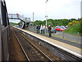 NT2194 : On The Fife Circle : Cardenden Station by Richard West