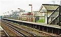 TQ2505 : Fishersgate station, 1991 by Ben Brooksbank