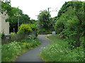 NS4463 : Cycle path at Elderslie by Thomas Nugent