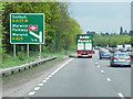 SP2664 : A46 Approaching Warwick Parkway by David Dixon