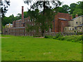 SJ8382 : Mill Meadow and Quarry Bank Mill by David Dixon