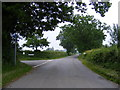 TM4681 : Clay Common Lane, Clay Common by Geographer