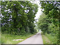 TM4682 : Primrose Lane & footpath to Further Green Farm &  Clay Common Lane by Adrian Cable