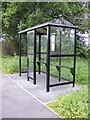 TM4781 : Bus Shelter on the A12 London Road by Adrian Cable