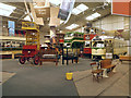 SK3454 : Main Exhibition Hall, National Tramway Museum by David Dixon