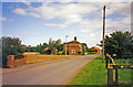 SE8419 : Former station at Fockerby, Isle of Axholme 1993 by Ben Brooksbank