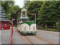 SK3455 : Blackpool Boat Car at Wakebridge Tram Stop by David Dixon