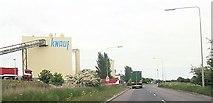 TA1914 : Knauf factory off Kings Road Immingham by John Firth