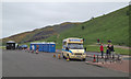 NT2773 : Waiting for customers, Holyrood Park by Robin Stott