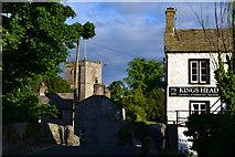SD9772 : Pub and church, Kettlewell by David Martin