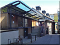 NT2673 : Scottish Poetry Library, Crichton's Close off Canongate by Robin Stott