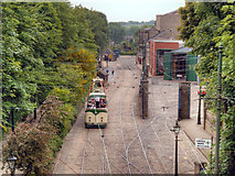 SK3455 : Crich Tramway Village by David Dixon