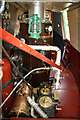 SP3684 : Hawkesbury - steam narrowboat Tixall by Chris Allen