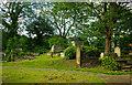 TQ3390 : Churchyard, All Hallows, Tottenham by Julian Osley