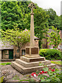 SK2956 : Cromford War Memorial by David Dixon