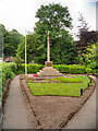 SK2956 : Cromford Memorial Garden and War Memorial by David Dixon