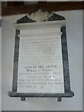 SU5355 : All Saints, Hannington: memorial (5) by Basher Eyre