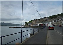 NS0767 : Pier at Port Bannatyne by SMJ