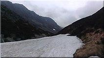 NH9503 : Mini Glacier in the Lairig Ghru by Matt McConway