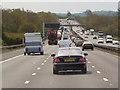 SJ8928 : Southbound M6, Staffordshire by David Dixon