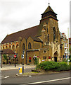TQ2987 : St Augustine's Church, Archway Road by Julian Osley