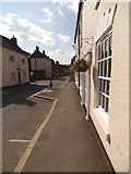 SO8483 : High Street View by Gordon Griffiths
